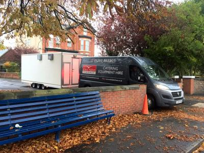 Temporary Kitchens for Care and Nursing Homes